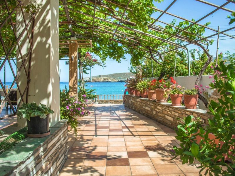 Andros Cycladen accommodatie